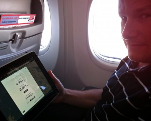 Wifi på flyget