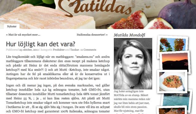 Matkrig i bloggosfären