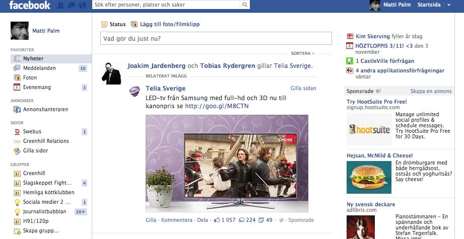 Facebook lurade mig att klicka på…