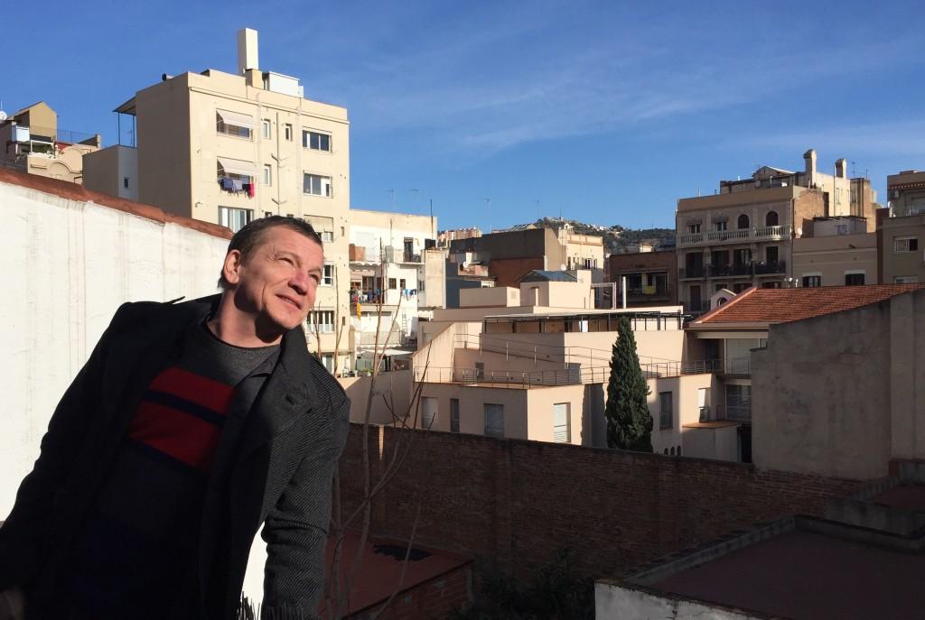 Ulf Lindholm i Barcelona