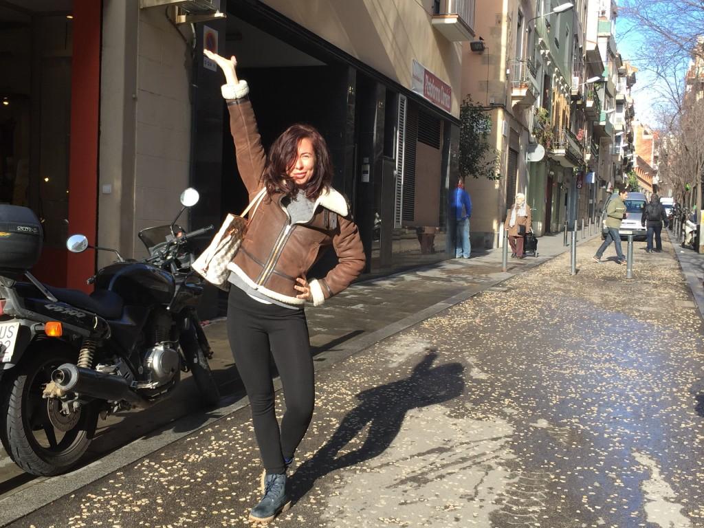 Gabriella Lahti i Barcelona