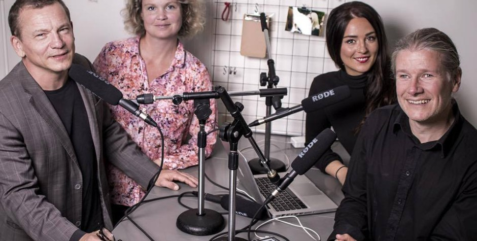 PR-häxan inspelning: Ulf Lindholm, Åsa Melin Mandre, Therese Kjellsson, Matti Palm